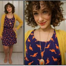 Dino Dress ModCloth