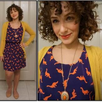 Dino Dress ModCloth