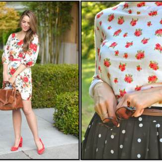 Floral and Dots 7