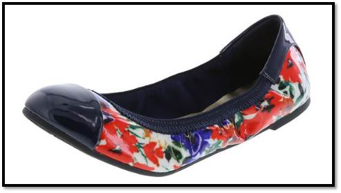Floral Payless Flats