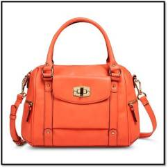 Light Orange Target Purse
