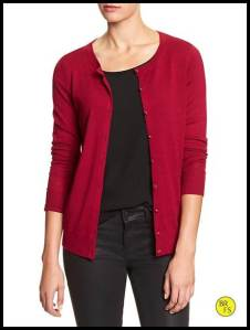 Red Banana Republic Cardigan