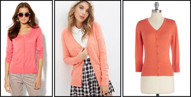 Coral Cardigans