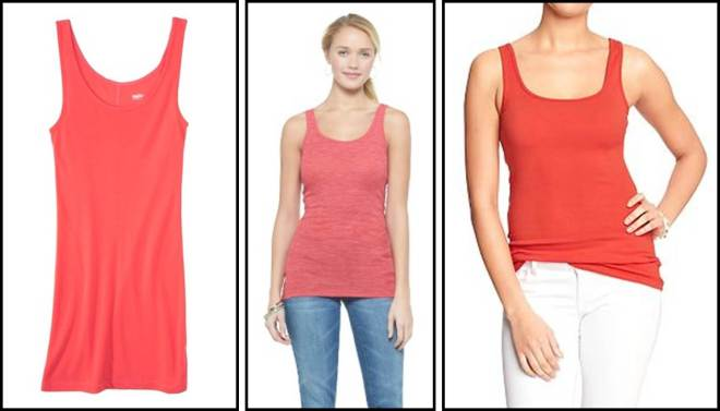 Coral Red Tanks