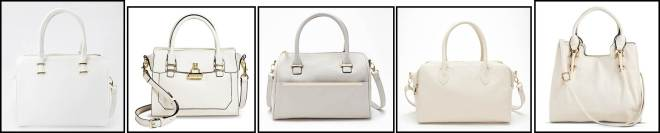 White purses